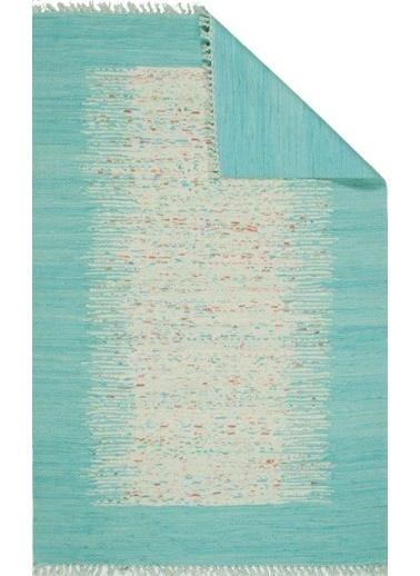 MarkaEv Bodrum Çift Taraflı Kilim 80x150cm Mavi